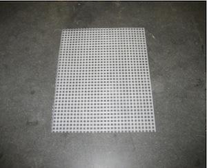 number 5 plastic mesh canvas