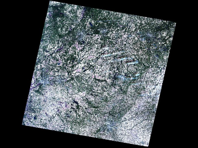 Landsat, true color, KBS