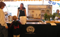 KBS LTER Education & Outreach Coordinator Julie Doll shares LTER research approaches at the Southwest Michigan Harvest Fest; Photo Credit: S.S.Cole, Michigan State University