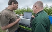 KBS LTER/GLBRC biofuels experiment; Photo Credit: K. Stepnitz, Michigan State University