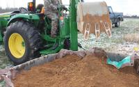 Digging soil pits