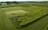 Aerial view of an early successional field on the KBS LTER site; Photo Credit: K.Stepnitz, Michigan State University