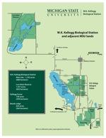 KBS Map and Adjacent MSU Lands