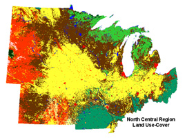North Central Region Land Use Cover