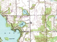 Topographic map (DRG)