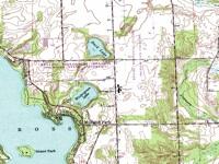 Topographic map (DRG)