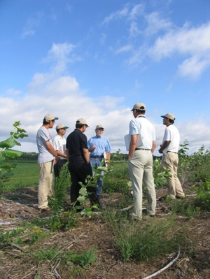 LTER tour from The China Agricultural University