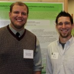Andrew and his mentor, Dr. Adam Reimer at the student symposium.