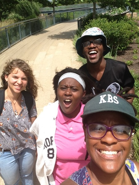 Ivori and fellow KBS summer researchers having fun exploring Michigan.