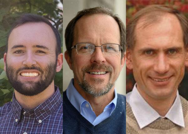 Authors of the study, Braeden Van Deynze, Scott Swinton, and David Hennessy.